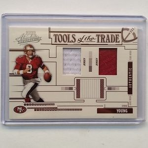 2005 Donruss Playoff Steve Young Relic